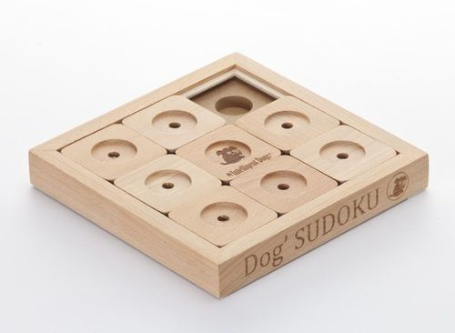My Intelligent Dogs Sudoku small 9 wood